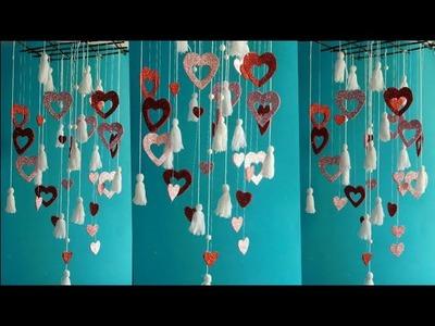 Beautiful heart home decor craft ll DIY