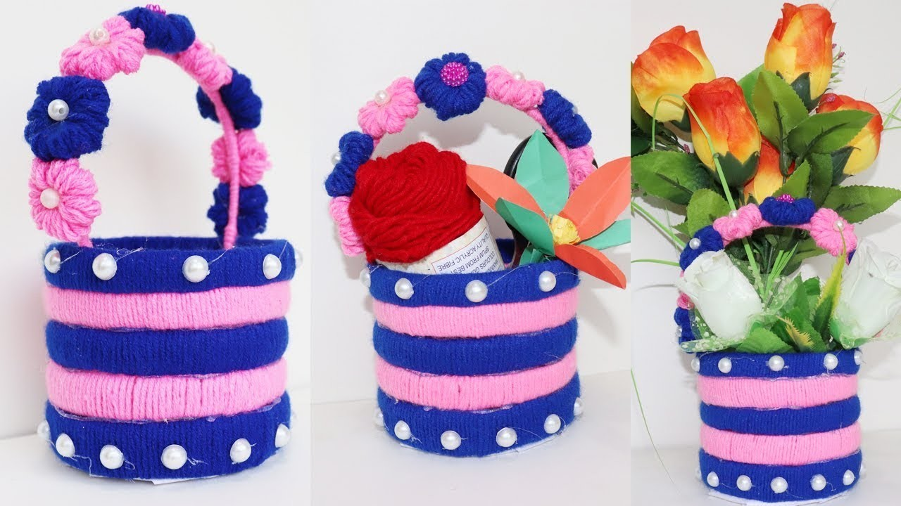 Best Out Of Waste Water Bottle Craft Idea Plastic Bottle Flower