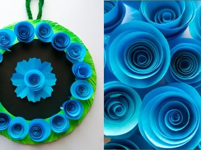 Crafts ideas for home decor. Wall hanging craft ideas. Very unique wall hanging. diy wall decor
