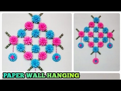 DIY Paper wall hanging.home decor craft.Paper craft