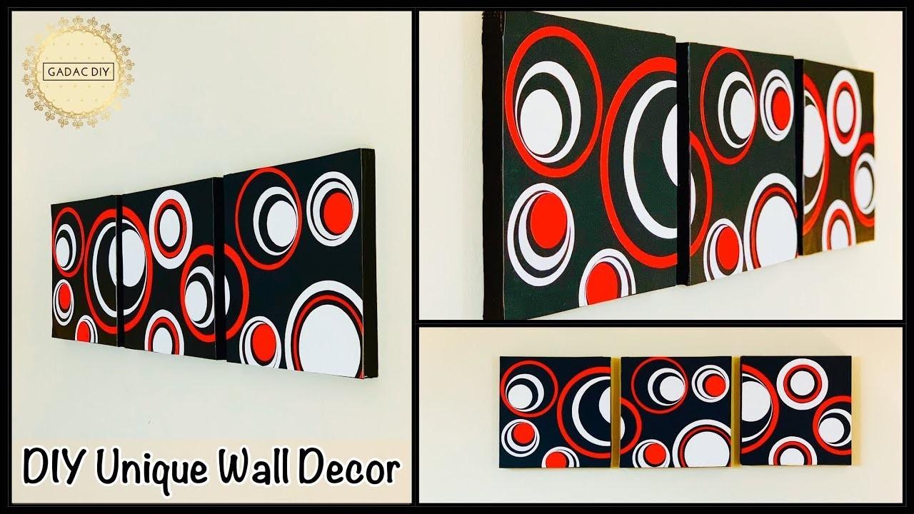 Diy Unique Wall Decor| gadac diy| wall hanging| craft ideas for home decor| diy crafts| paper crafts