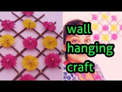 Easy wall hanging.papercraft.DIY craft