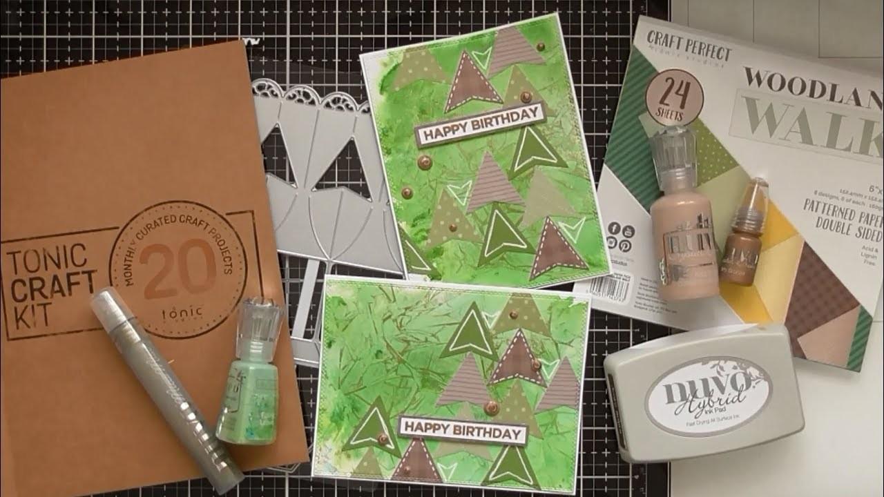 Happy Birthday with Tonic Craft Kit #20 :D