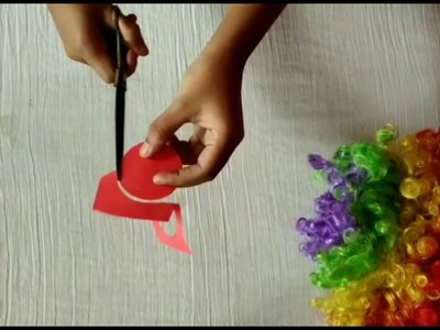 How to make flowers from single piece of paper. #diy #craft #paperflower #papercraft #artandcraft