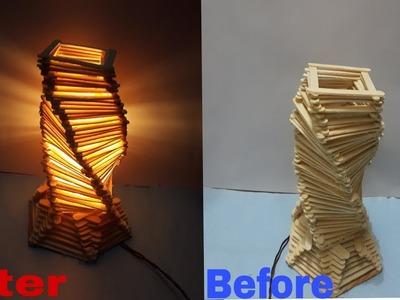 How Best Out Of Waste Medicine Bottle Box Easy Woolen Craft Idea