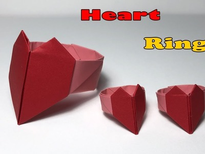 Ring with heart - OrigamiArt.Us | 300x400
