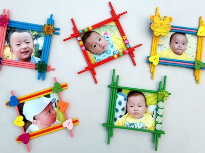 5 Cool and Easy Photo Frame Ideas | DIY School Projects
