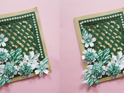 Beautiful Handmade Card for Birthday.Anniversary - Latest DIY Card Idea