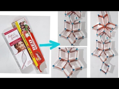 Best Out Of Waste Fair Lovely Box | DIY Arts And Crafts | Reuse Idea From Cream And Toothpaste Box