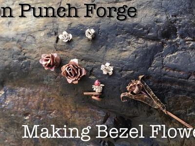 Botanical Metalsmithing! EASY! Bezel Flowers Turn Bezels into Decorative Embellishments -DIY- How To