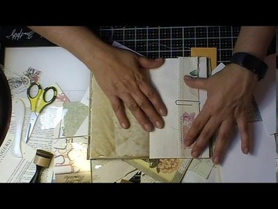 """""""Craft with Me"""" Making nature themed booklets  Pt. 1"""