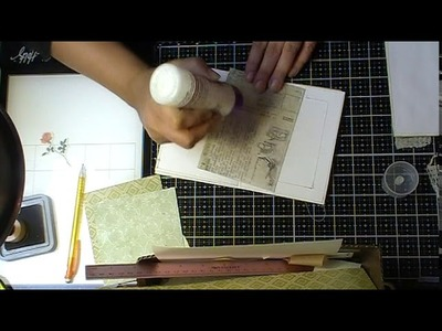 """""""Craft with Me"""" Making nature themed booklets  Pt. 2"""