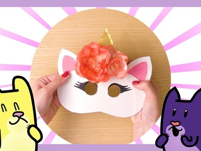 DIY ????  COSTUMES for KIDS of FUNNY ANIMALS ???? I MAKE YOUR OWN COSTUME I Gato Rainbow & Gata Moon