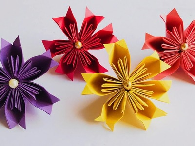 DIY Easy Origami Flowers | Paper Flowers Making | #37 |