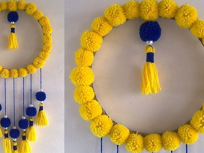 DIY Easy Wall Hanging Out of Wool !!! DIY Room Decor Idea 2019 !! UesFull Room Decor || DIY Projects