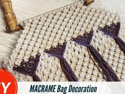 DIY Macrame Bag Decoration | Decoration Crafts