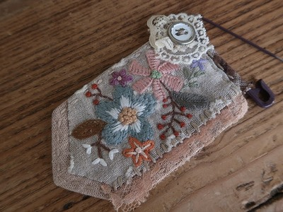 DIY 프랑스자수 브로치 만들기 │ Embroidery Brooch │  How To  Make Crafts Tutorial