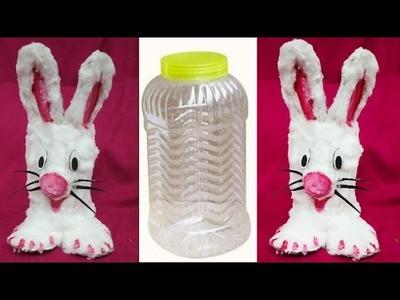 DIY Soft Rabbit Stand| Waste Materials idea| Art and Craft| Easy Kids Craft| #tulikajagga