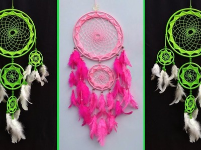 DIY Super Easy Way to Make Dreamcatcher | Step by step slow video tutorial