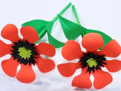Easy Paper Flower Making - DIY Paper Flower New Design Ideas 2019