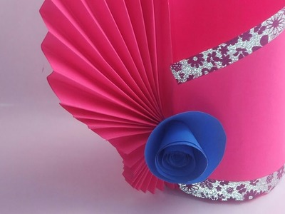 Paper How To Make Paper Flowers Diy Flowers Out Of Paper Easy