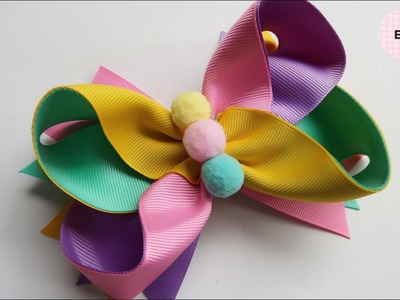 Laço De Fita ???? Ribbon Bow Tutorial #20 ???? DIY by Elysia Handmade