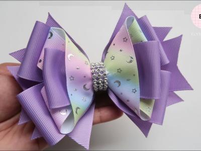 Laço De Fita ???? Ribbon Bow Tutorial #25 ???? DIY by Elysia Handmade