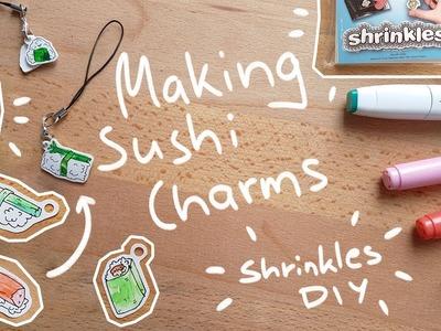 Making Sushi Charms! DIY