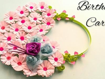 Beautiful Birthday Greetings Card Idea | DIY Handmade Birthday Card | Tutorial