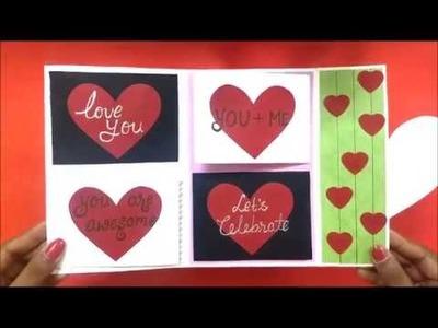 Beautiful Handmade Anniversary card idea | DIY Anniversary card