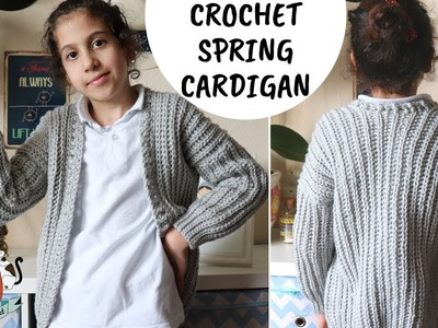 Crochet Easy Cardigan