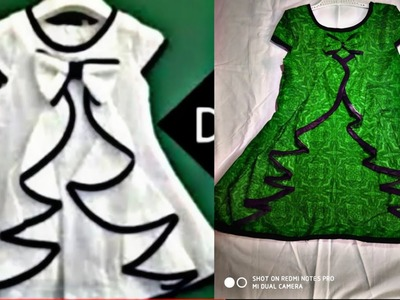 DIY: baby Designer frock catting and stitching full tutorial. my fashion art