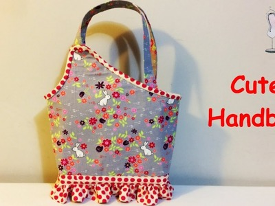 #DIY Cute bag | Handmade Gift Bag | Lunch Bag |Tutorial
