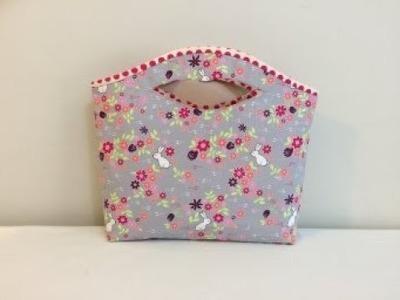 #DIY Cute Tote Handbag | Lunch Bag | Gift Bag |Tutorial