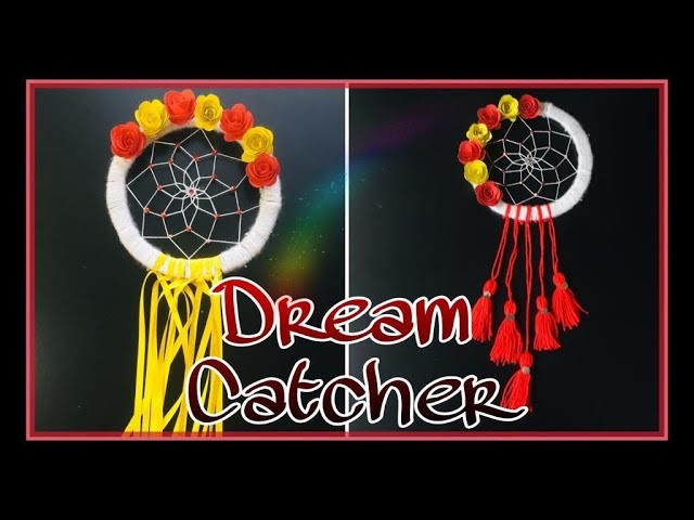 DIY dream catcher without feathers   How To Make dream catcher step by step tutorial   