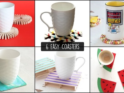 DIY Easy Coasters | How to make Coasters
