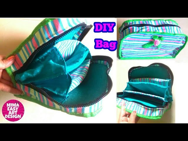 DIY Everyday Bag.Pouch.wallet Making idea |How to make purse Bag at home mima easy art design