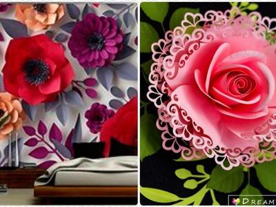 DIY.Flowers Paperwork Best Stunning Decorations Ideas.Fleur