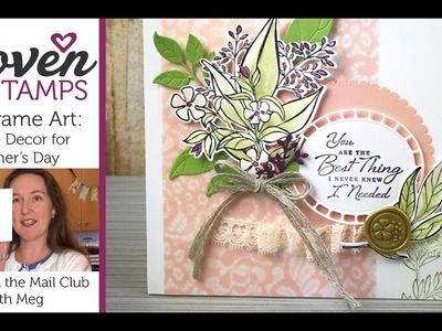 DIY Frame Art: Wonderful Romance for Mother's Day