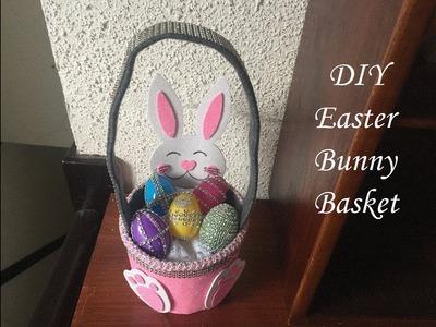 DIY: How to make an Easter Bunny Basket. Cómo hacer una canasta de conejito de pascua