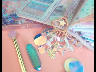 DIY Keyring holder for your planner charms