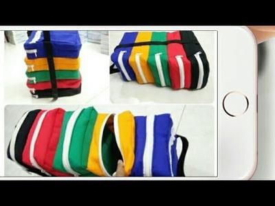DIY : Multi Purpose Organizer Bag Tutorial By Anamika Mishra. .