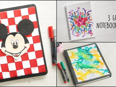 DIY Notebook Cover | Back to School | Notebook Cover