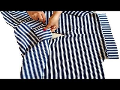 DIY Regular Wear Extended Sleeves Top With easy Steps Full Tutorial