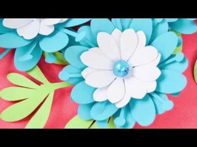 DIY Small Paper Flower Tutorial