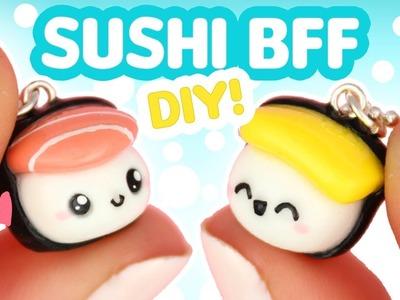DIY SUSHI BFF! - Polymer Clay tutorial | KAWAII FRIDAY