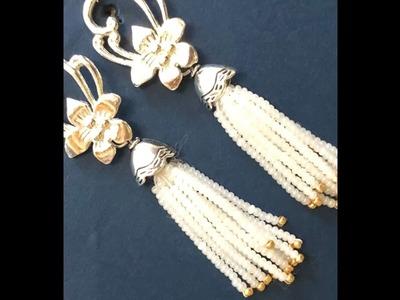 DIY Toggle Tassel Earrings part 2