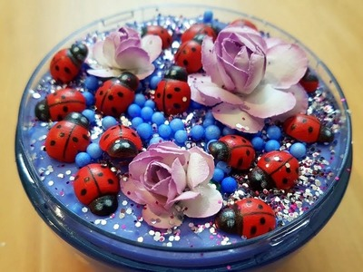 DIY Ultimate Ladybug Slime ~ How To Make Slime At Home