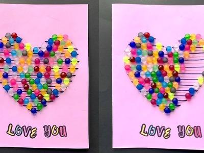 Heart Card DIY - Easy Tutorial