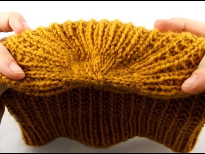 How to Knit a Hat #3 Decreasing